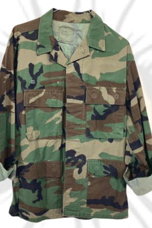 Lote chaquetas militares camuflaje