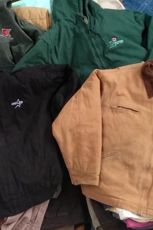 Mix abrigos de trabajo por Kilos