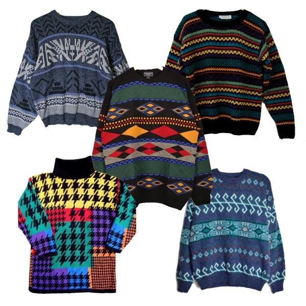 Mix jerseis vintage por Kilos