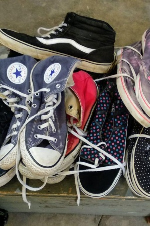 Lote zapatillas Converse, All Star, Vans