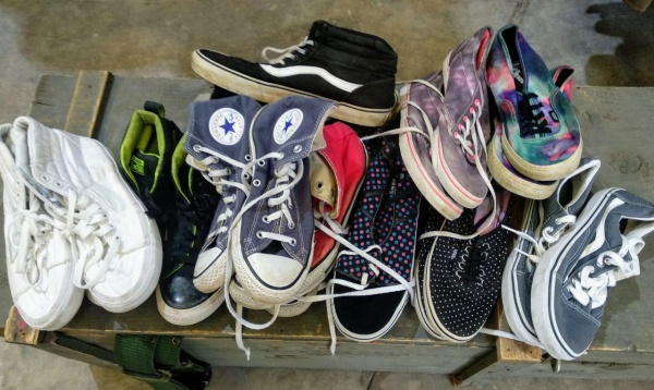 Lote zapatillas Converse, All Star, Vans