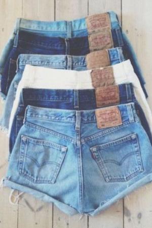 Pantalón shorts Levis, Lee, Wrangler