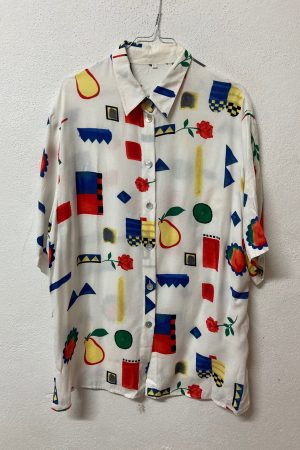 camisas estampadas unisex vintage