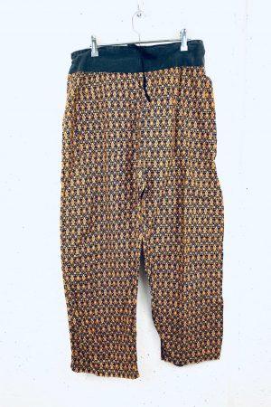 Lote pantalones vintage estampados mujer