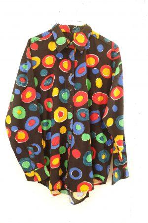 Lote blusas estampadas vintage