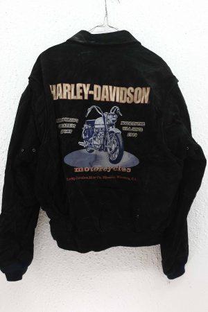 Cazadora Harley Davidson piel de ante