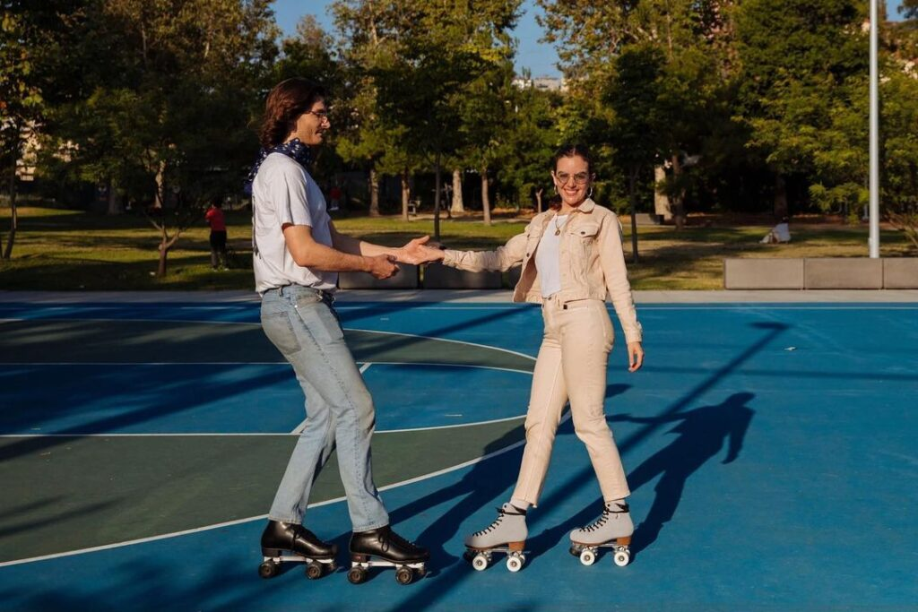 Patinaje artístico sobre ruedas y baile ¿Es posible? El Roller Dance