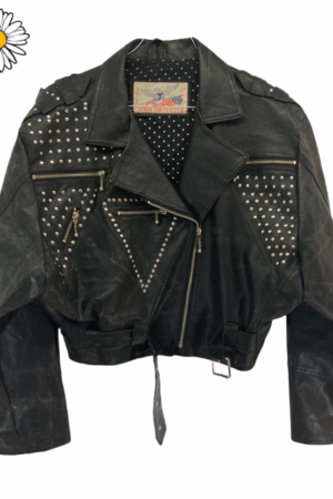 Lote chaquetas vintage de piel