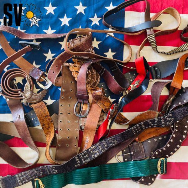 Mix cinturones vintage por Kilos