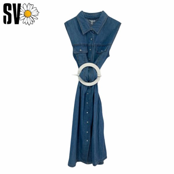 Lote vestidos vintage denim